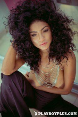 topless Panamanian model & Playboy PlaymateKate Rodriguez