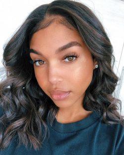 ebony model Lori Harvey