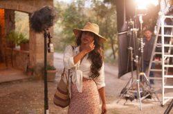 actress Priyanka Chopra Jonas on Quantico set